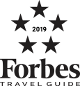 Forbes Travel Guide 2019 Logo